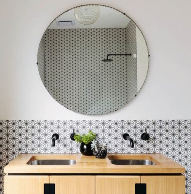 3 Tile & Black Fixture Trends