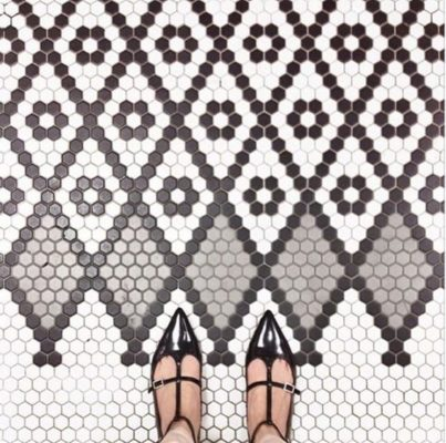 10 Super Hexy Floor Patterns