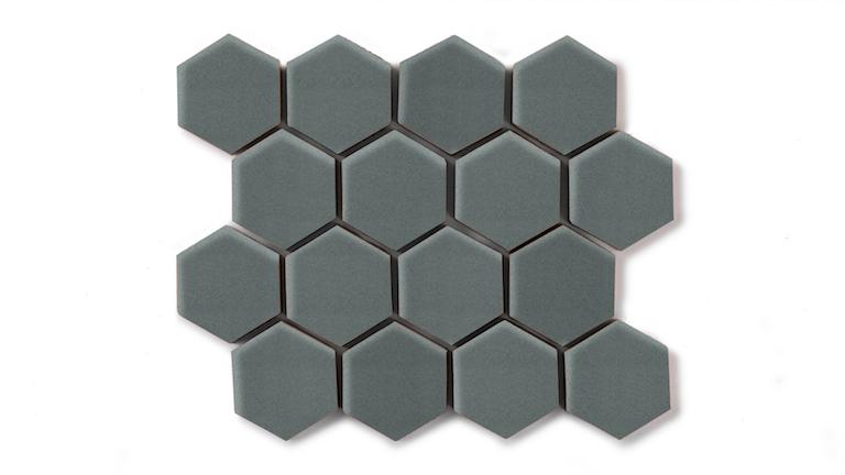 "Flagstone 2"" Hexagon"