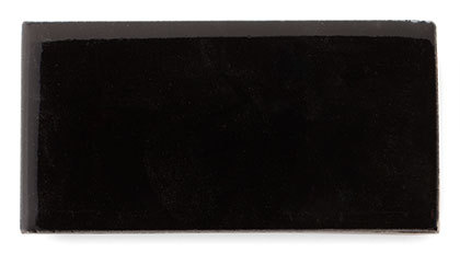 Pitch Black | Fireclay Tile