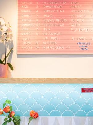 Alphabet Scoop Ice Cream Shop