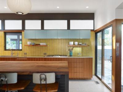 Sunny Mid-Century Modern Kitchen