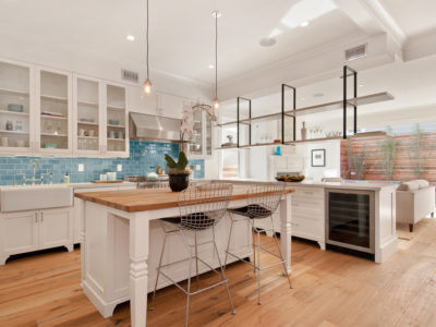 Coastal Chic Bay Area Kitchen