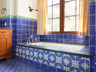 Spanish Colonial Revival Bathroom