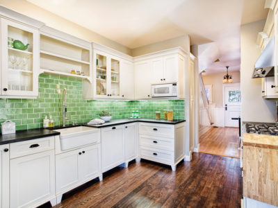 Eco-Friendly Backsplash
