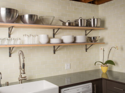 Industrial Kitchen Backsplash