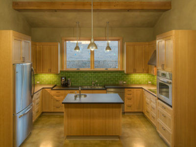 Kelp Kitchen Backsplash