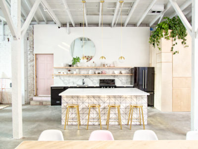 Light Lab's Triangle Kitchen Island Paradise