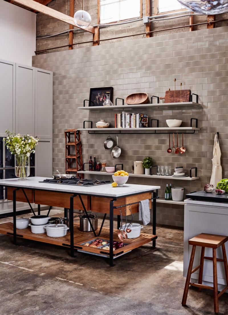 Goop Test Kitchen Backsplash Fireclay Tile