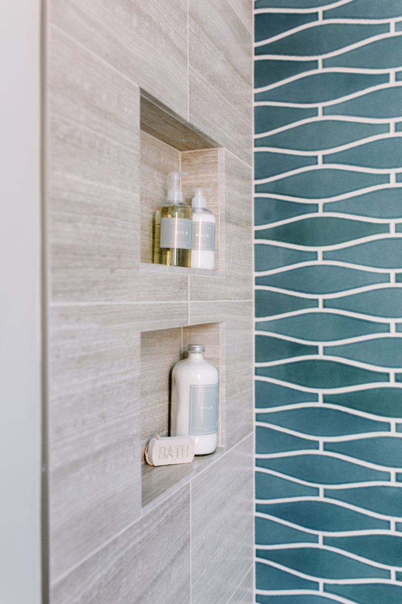 San Francisco Bathroom Makeover Fireclay Tile