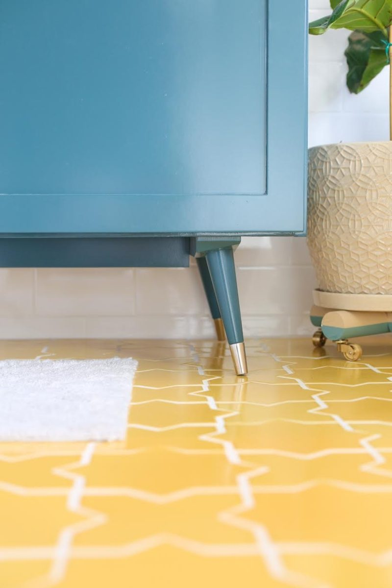 A Starry Bathroom Floor | Fireclay Tile