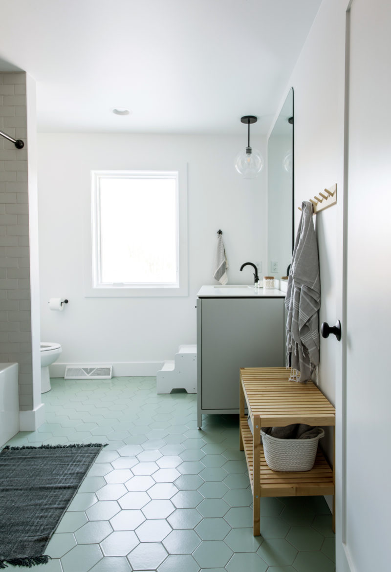 The Fresh Exchange: Kids/Guest Bath | Fireclay Tile