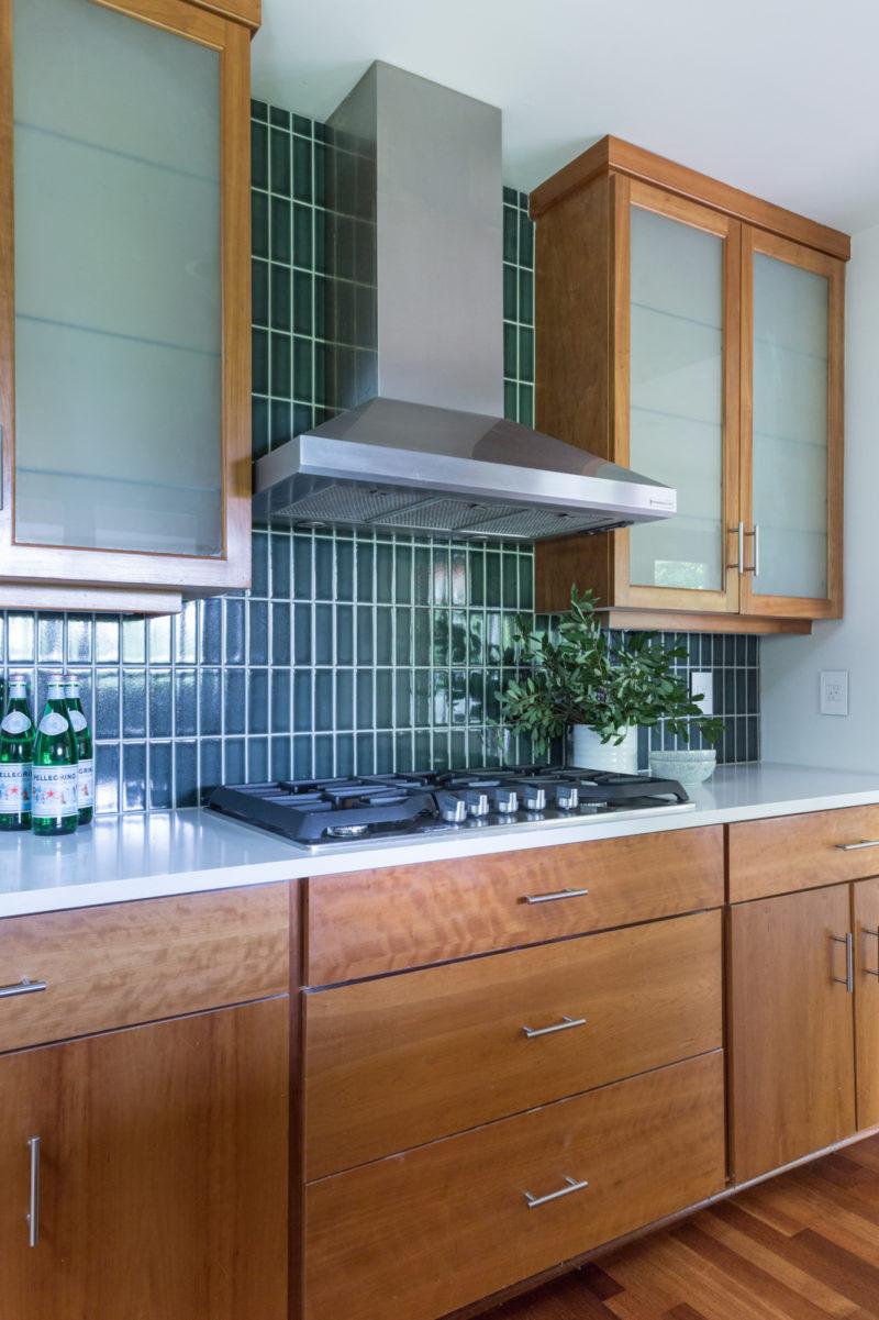 Stacked Loch Ness Kitchen Backsplash | Fireclay Tile