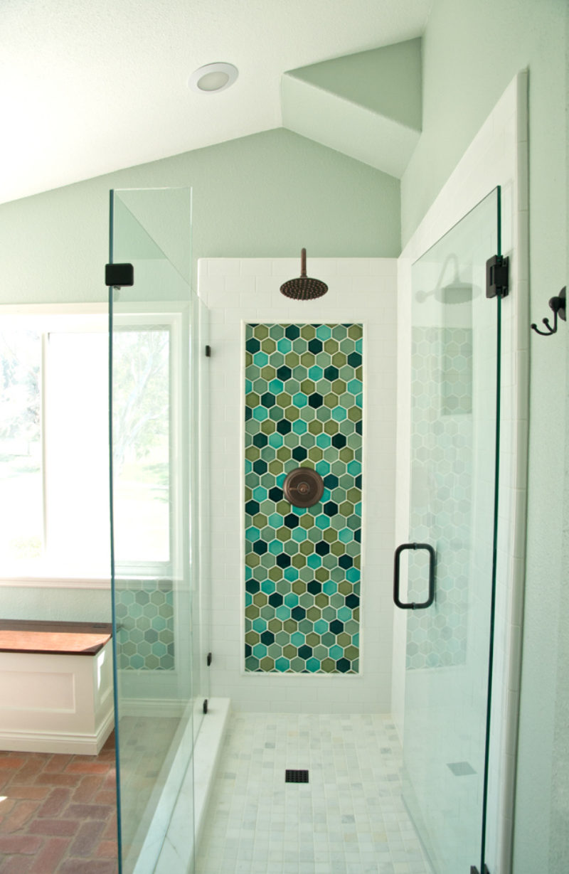 Hexagon Shower Accent | Fireclay Tile