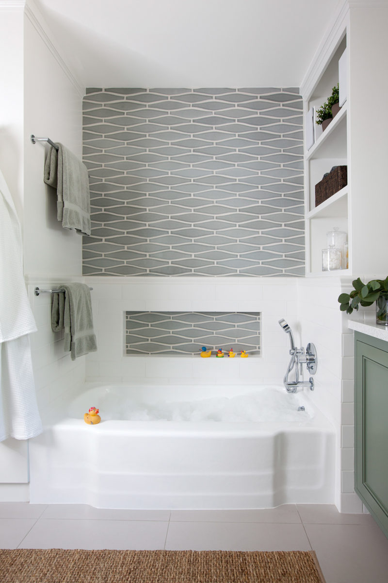 Pennington Studios Wave Bathroom Fireclay Tile