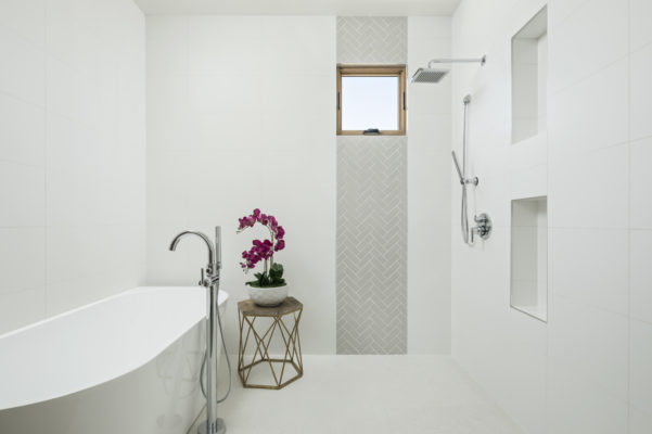 The Canal House: French Linen Bathroom
