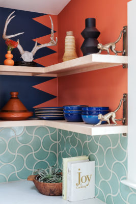 Yumi Interiors: Ogee Drop Backsplash