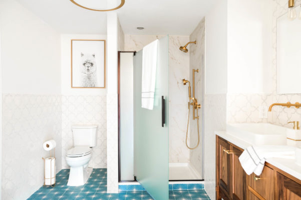 Project Spotlight: Starry Bathroom