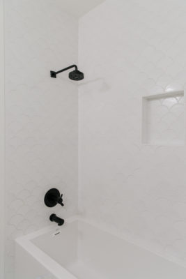 Villa Bonita: Ogee Drop Tile Shower
