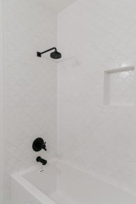 Villa Bonita: Ogee Drop Tile Shower