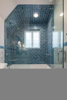Mayan Blue Bathroom Tile