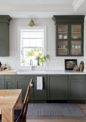 Francesca Albertazzi: Picket Kitchen Backsplash
