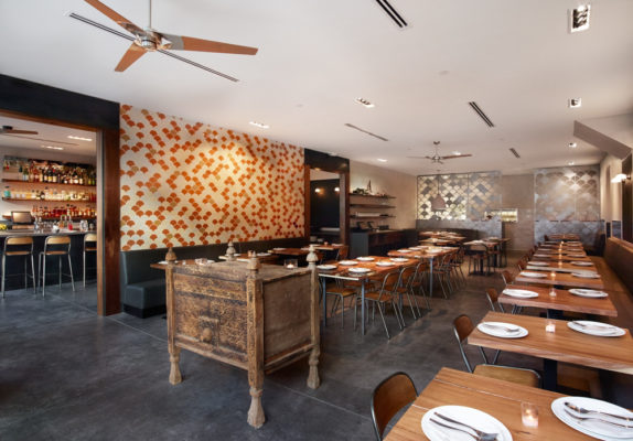 Warm and Colorful San Francisco Restaurant