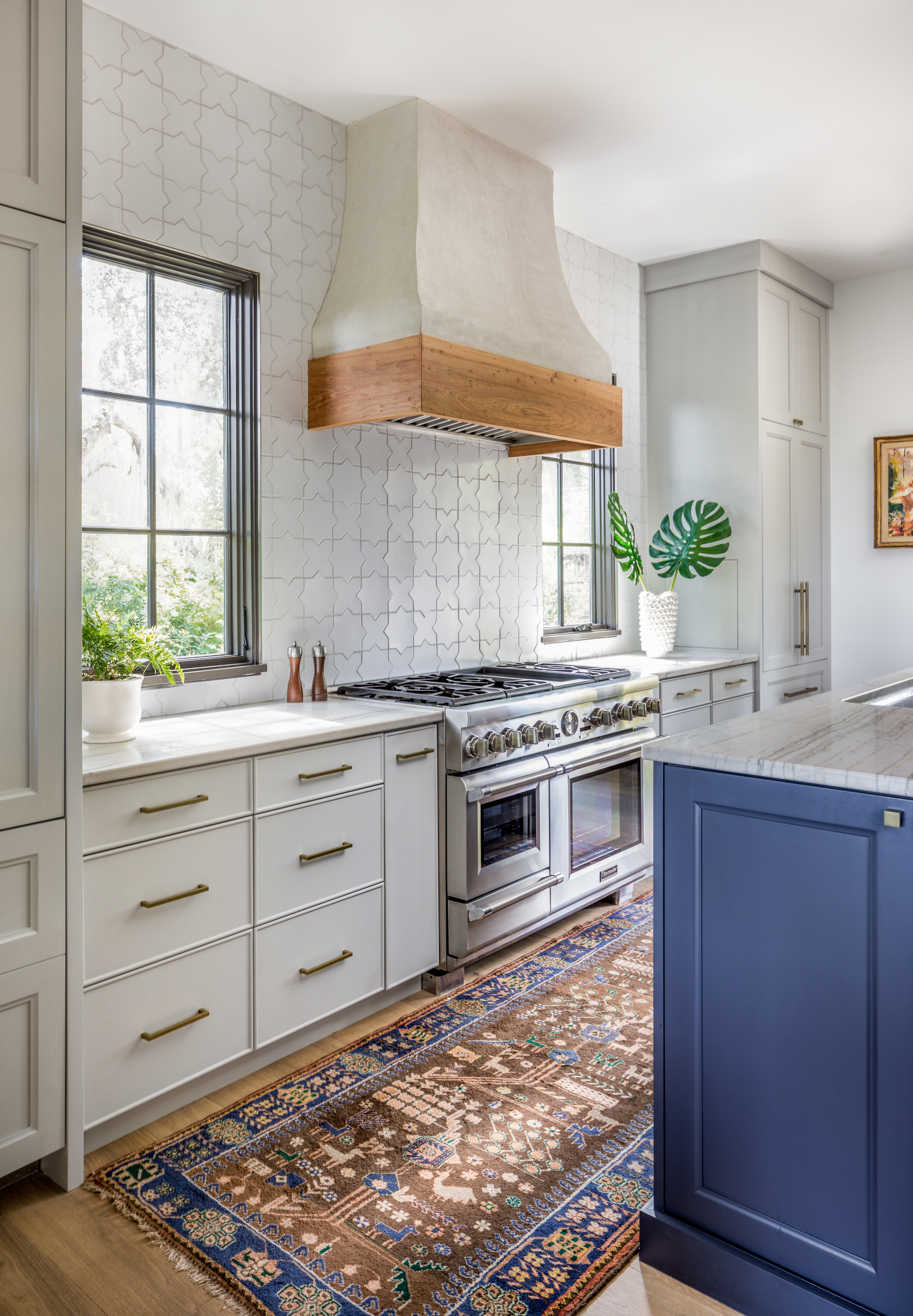 Installation Stories Star and Cross Kitchen…   Fireclay Tile