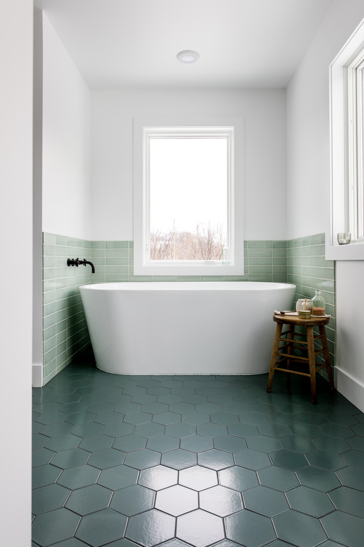 Stepping Up Your Bathroom Floor Tiles Fireclay Tile