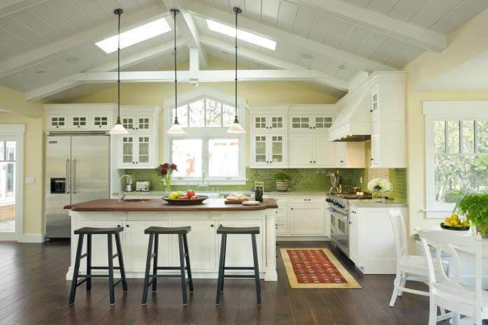 Tile By Style The Spirit Of The Craftsman Kitchen Fireclay Tile