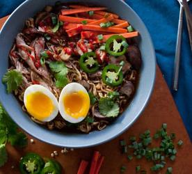 11 Recipes with Ramen Noodle and Rice Wine Vinegar - Feastie