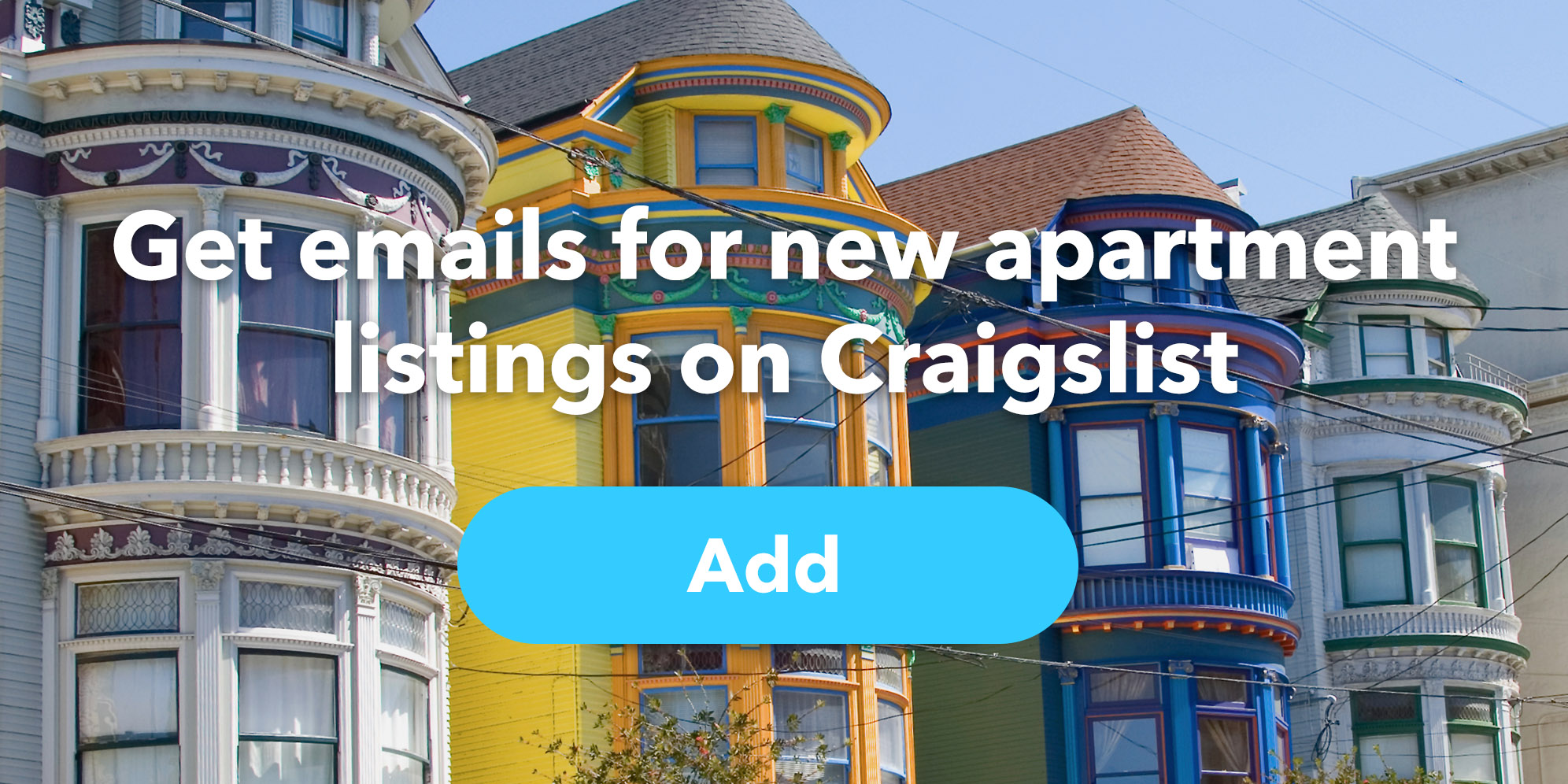 Get an email for new apartment listings on Craigslist