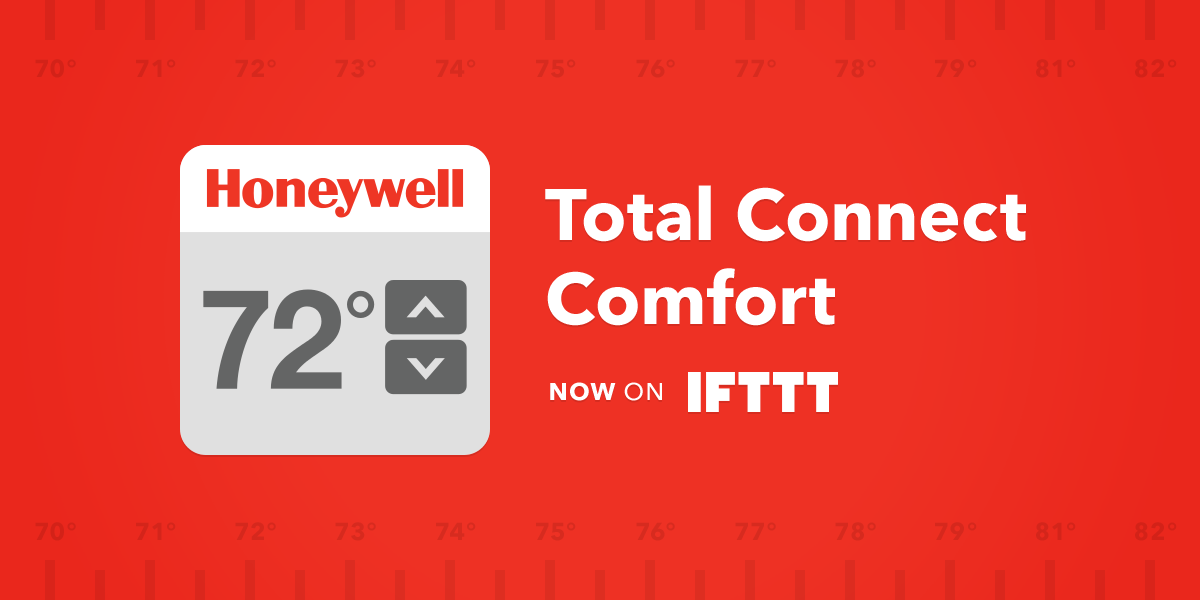 Ifttt Blog Introducing The Honeywell Total Connect
