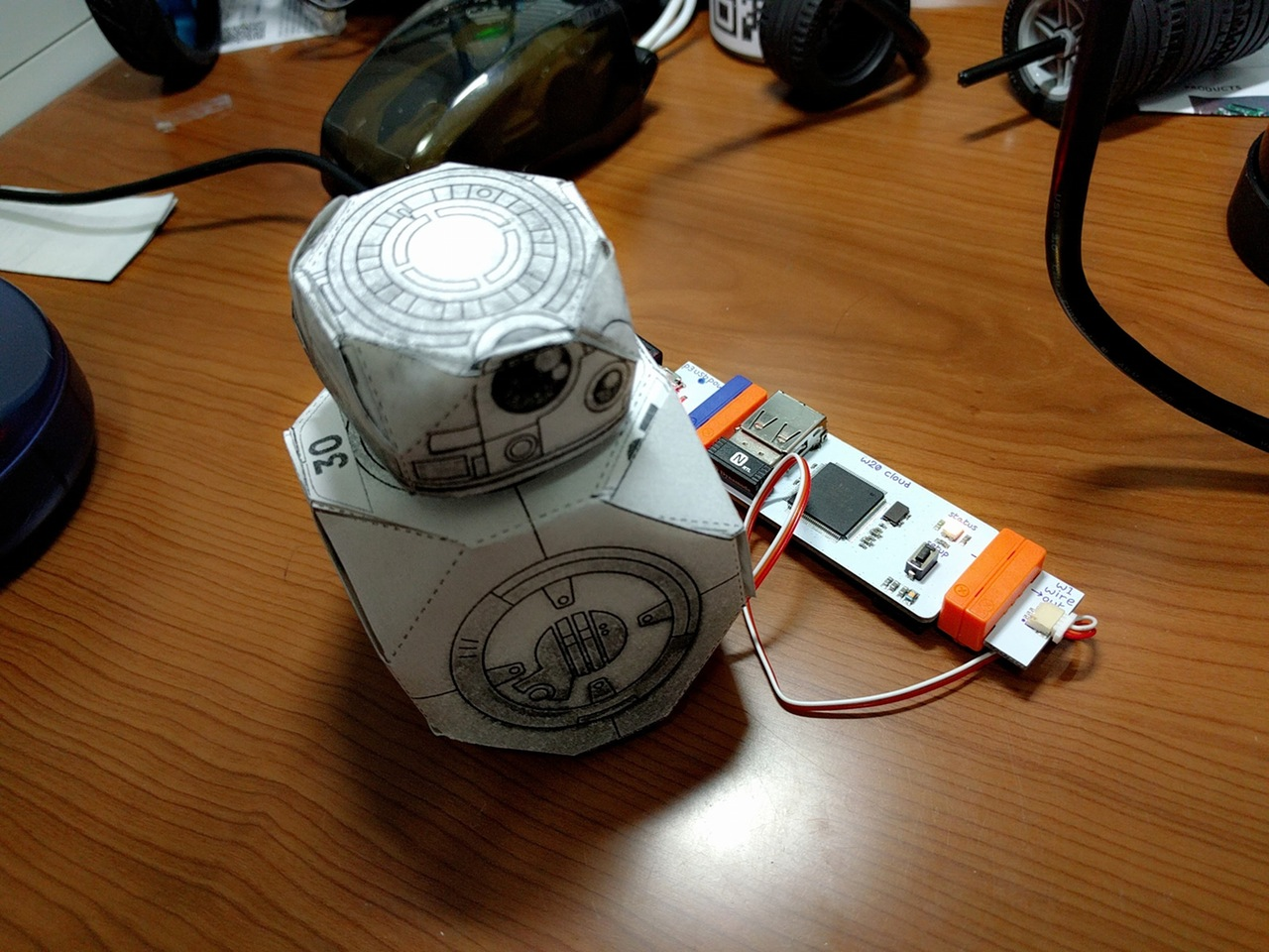 A droid made with IFTTT