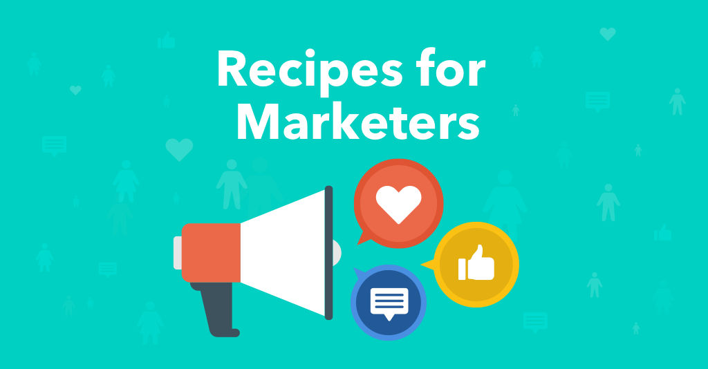 Recipes for Marketers