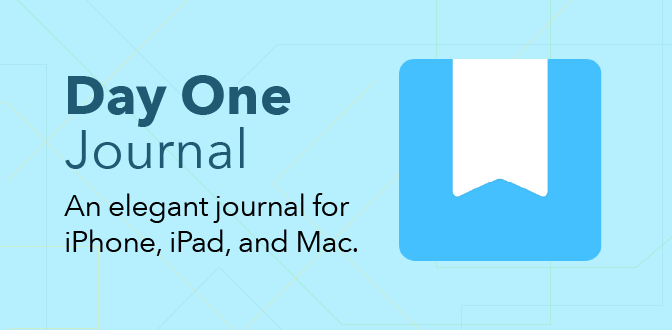 Day One Journal - An elegant journal for iPhone, iPad, and Mac