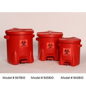 Eagle Poly Bio-Waste Cans (943BIO 945BIO 947BIO)