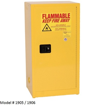 15 - 22gal. Eagle Flammable Liquid Cabinets