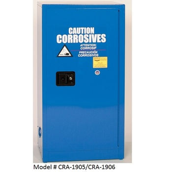 15 - 22gal. Eagle Acid & Corrosive Safety Cabinets (CRA-1905, CRA-1906)