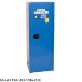 24 - 30gal. Eagle Acid & Corrosive Safety Cabinets ( CRA-1923, CRA-2310)