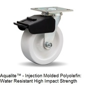 "Hamilton Combination Brake 6"" Swivel Casters"