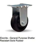 "Hamilton General Utility Series 3 1/2"" Rigid Casters"