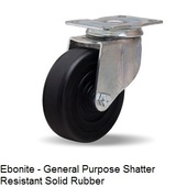 "Hamilton General Utility Series 4"" Swivel Casters"