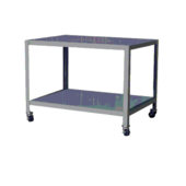 Meco Omaha Mobile Machine Tables 2 Shelves