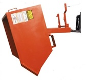 Meco Omaha Series 90 Self Dumping Hoppers Orange Enamel