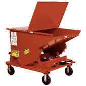 Meco Omaha Self Dumping Hopper Caster Add Ons