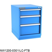 Champion Desk-Height Narrow-Width Drawer Cabinet