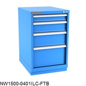 Champion Bench-Height Narrow-Width Drawer Cabinets