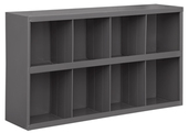"Durham 9"" Deep Sloped Shelf 8 Bins"