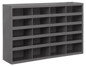 "Durham 9"" Deep Sloped Shelf 20 Bins"